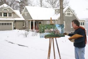 Painting House Portrait