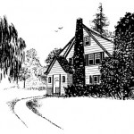 Pen and Ink House